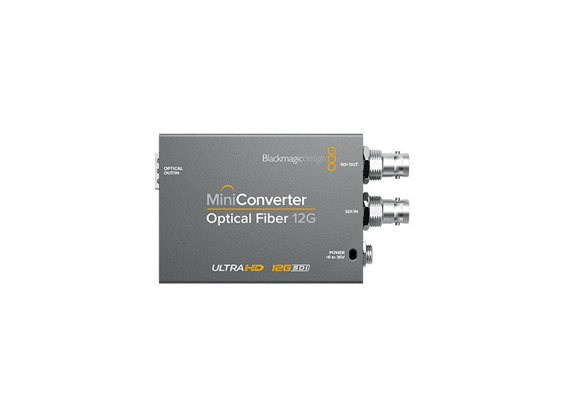 Mini Converter Optical Fiber 12G